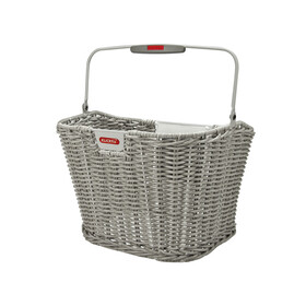 KlickFix Structura Bike Basket retro grey